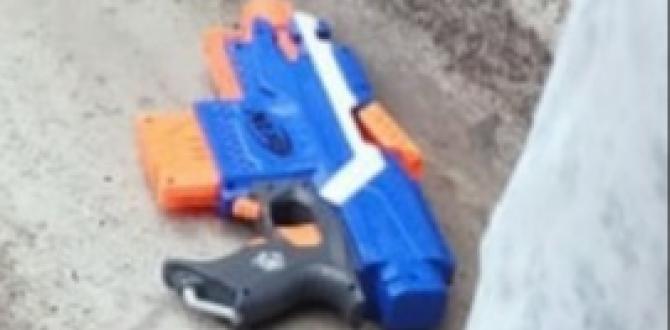 Con esta subametralladora de juguete caminaba el hombre asesinado.