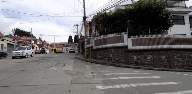 En esta calle agonizó Juan durante más de una hora.