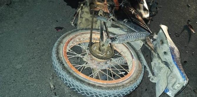 accidente moto