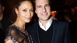 Thandie Newton y Tom Cruise protagonizaron Misión Imposible 2.