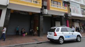 En este hostal del centro porteño fue atacada la manabita Gardenía Bejarano.