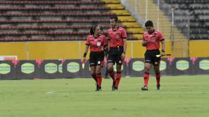 Mónica-Amboya-arbitraje-femenino-Copa-Sudamericana