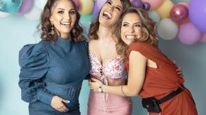 Romina Calderón, Jacqueline Gaete y Layla Torres
