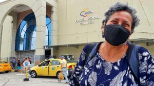 Patricia Bermúdez madre y abuela de las víctimas.