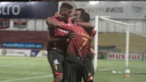 Deportivo Cuenca ganó 3-0 a Guayaquil City.