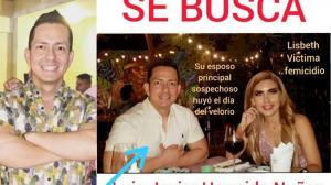 Luis Hermida Núñez es sospechoso de asesinar a su esposa Lisbeth Baquerizo.