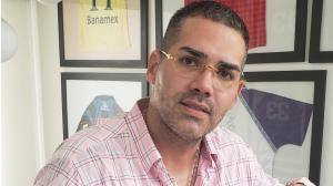 Omar Quintana, por ahora es empresario de jugadores, pero se ve como directivo azul en el futuro.