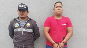 Agentes de la Unase detuvieron a Darío Ronquillo en un centro comercial de Guayaquil.