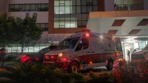 Daniel Salcedo permaneció dos días en el Hospital Guayaquil.