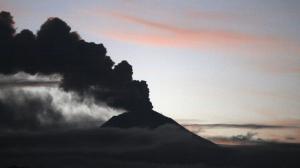 Volcán Sangay - atardecer