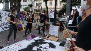 Se realizó un plantón para exigir justicia por las menores de edad asesinadas.