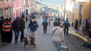 Mercado - San Roque - Coronoavirus - Pruebas PCR