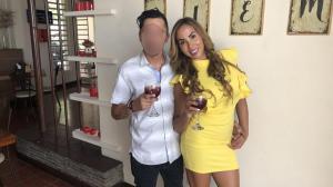 Modelo Andrea Espinoza denuncia su ex