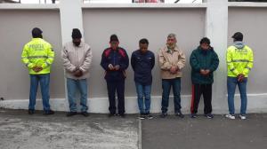 Droga -Detenidos - Quito
