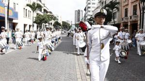 PREGÓN CÍVICO POR EL INICIO OFICIAL DE LAS FIESTAS JULIANAS DE GUAYAQUIL
