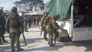 Los militares vigilarán las cárceles por pedido de Lenín Moreno.