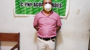 Ecuatoriano detenido en Perú