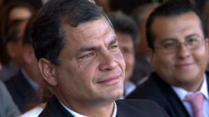 Rafael Correa fue sentenciado a 8 años de prisión por el Tribunal de Casación de la Corte de Justicia.