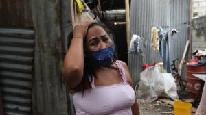 Jenny Proaño asegura que su conviviente estranguló a su cuñada María Mercedes Ortiz.
