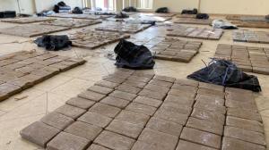 Estos son los 1.203 paquetes  de cocaína que se decomisaron el Golfo de Guayaquil.