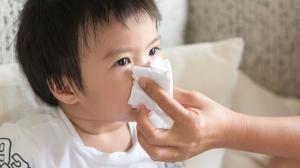 bebe con gripe