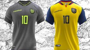 Camisetas de la selección de Ecuador