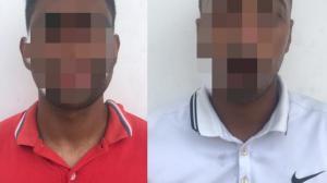 Los dos venezolanos son investigados por el robo al extenista Morejon y al vicepresidente de Barcelona.