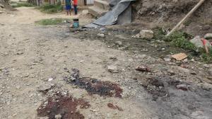 En este lugar fue asesinado un venezolano. Otras dos personas resultaron heridas.