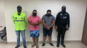 Los presuntos secuestrados fueron puestos en manos de autoridades competentes.