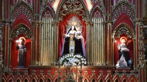 La Virgen de Baños de Agua Santa