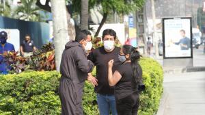 Familiares de la cañareja llegaron a Guayaquil para retirar el cadáver de su ser querido.