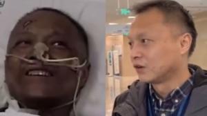 Yi Fan estuvo hospitalizado a causa del covid-19.