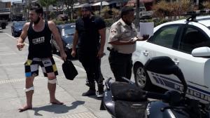 El exchico reality fue detenido el pasado miércoles acusado del hurto de un celular.