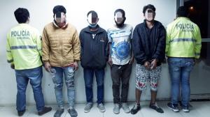 detenidos por robo a finca