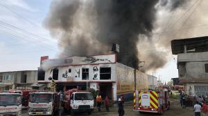 Incendio Babahoyo