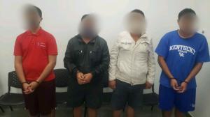 cuatro detenidos