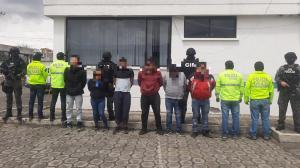 Sacapintas - machachi - detenidos