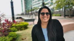 Blanca Moncada, periodista guayaquileña y autora de 'Mis Historias Urbanas'.