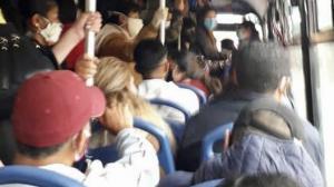 Autobús repleto