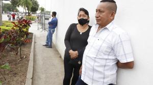 Enrique Fajardo no podía asimilar la muerte de su hijo.
