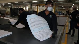 El IGM empezó a enviar los documentos terminados a la empresa que se encargará de la integración del paquete electoral.
