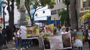 Lisbeth Baquerizo fue hallada sin vida el pasado 21 de diciembre. Se han realizado varios plantones exigiendo justicia.