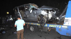 Accidente San Miguel Bolívar