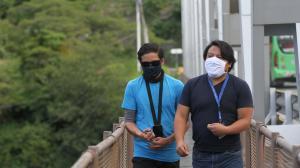 Esteban Canelos revivió el angustiante momento que se dio en el puente de El Chiche.