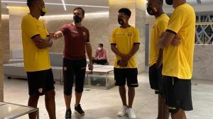 Diez jugadores juveniles fueron a Manta para trabajar con el primer equipo.
