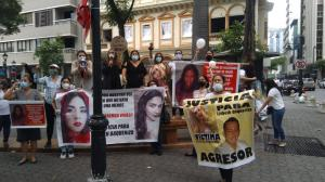 Familiares de Lisbeth han realizado varios plantones para exigir justicia.