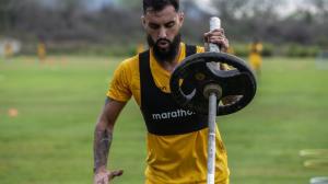 El uruguayo Gonzalo Mastriani, el nuevo grito de gol de los toreros. Hizo 11 tantos en el 2020 con Guayaquil City.