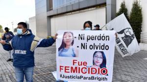 Femicidio - Quito - plantón