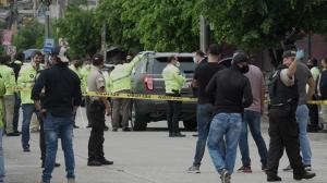 Efraín Ruales fue asesinado la mañana del miércoles en el norte de Guayaquil. Viajaba en su vehículo Ford Explorer negro.