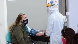 Los miembros de mesa deben acudir al centro de salud para realizarse la prueba.